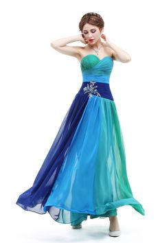 Find More Evening Dresses Information about Ready to Ship Rainbow Evening Dress with Sweetheart Neckline A line Long Pleat Lace Up Crystal Evening Dress Cheap than $50,High Quality dress tuxedo,China dress shirt Suppliers, Cheap dress with boots fashion from Suzhou Yast Wedding Dress Store on Aliexpress.com