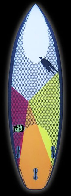 Monsta | Carbon Footprint Titanium II tri magenta – Proctor Surfboard Shop