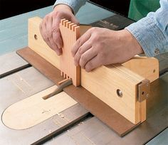 box joint jig plan Source: This project appeared in ShopNotes Magazine No.