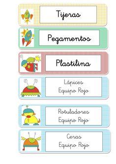etiquetas-del-espacio by Junta de Andalucía via Slideshare