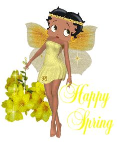 Betty Boop...think spring!