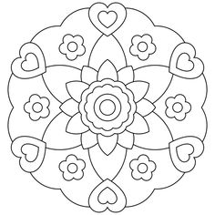 Mandala Coloring Pages For Kids | Coloring Pages
