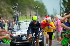 CHASING LE TOUR: THREE STAGE WINS FOR FROOME - Stage 17 - When Alejandro Valverde finished his ITT he had the fastest time overall. But by the time all riders had crossed the finish line, the Spaniard had dropped to fifth place, 30 seconds behind Froome.