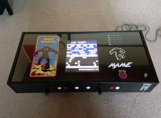 Who else would want to build a Raspberry Pi coffee table like this?