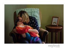 Newborn Photography, Rainbow baby, Rainbow baby portrait session, Rainbow baby newborn session, newborn photographer, Meg Brock Photography