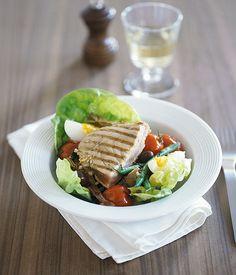 Tuna and artichoke salad Nicoise - Gourmet Traveller