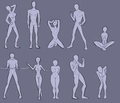 Random Body Poses by Bev-Nap Body Reference Drawing, Drawing Body Poses, Human Poses Reference, Pose Reference Photo, Anatomy Reference, Anatomy Poses, Anatomy Art, Poses Manga, Human Anatomy Drawing