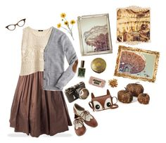"""""""Autumn Fair"""" by shabby-chic-chick ❤ liked on Polyvore featuring H&M, J.Crew, Look From London, Datura and Rene"""