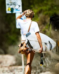 Just another day feeling awesome / surfer girl