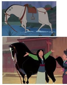 Khan Mulan and Changs horse