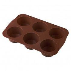 #Muffin-Backform Muffin braun #baking #backen #party #cake #Silikonbackform #siliconbaking