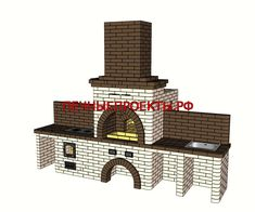 Brick Bbq, Willis Tower, Pergola, Patio, Building, House, Outdoor, Home Decor, Brick Grill