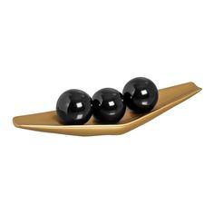 Jogo Centro de mesa em Cerâmica. Charmosa e elegante, este jogo é indispensável para sua decoração.