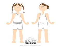 Free Paper Dolls [Printable Paper Dolls]