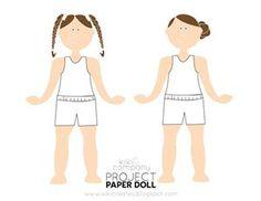 Free Paper Dolls [Printable Paper Dolls]