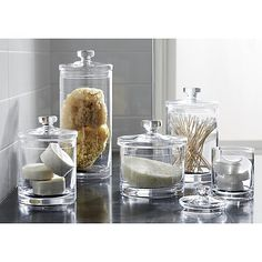Bathroom Canister Adorable Shop Our House  Laundry Rooms Laundry And Room Inspiration Design