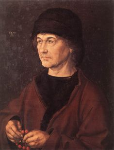 Portrait de son père, par Albrecht Dürer