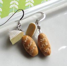 Hey, I found this really awesome Etsy listing at http://www.etsy.com/listing/78786936/baguette-and-brie-earrings