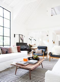 Boho Scandinavian Living Room