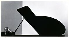 Igor Stravinsky, 1946. Por Arnold Newman
