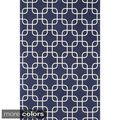 Flatweave Ledbury Retro Cotton Rug (7'6 x 9'6) | Overstock.com Shopping - The Best Deals on 7x9 - 10x14 Rugs $150