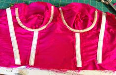 Gertie's New Blog for Better Sewing: Adding Underwires to a Bustier-Style Bodice