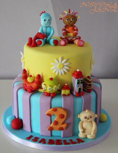 In The Night Garden - Cake by nicola thompson