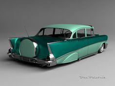 1957 Chevrolet 210 4-Door Custom Cruiser