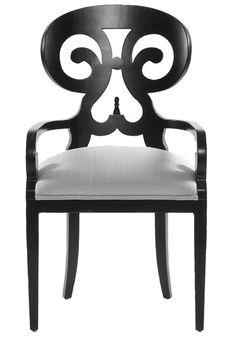 Vanguard Furniture: V1257A - Ali (Arm Chair)