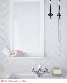 Haal meer uit je badkamer met Ikea #wonen #badkamer