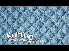Diamond Honeycomb stitch. Link download: http://www.getlinkyoutube.com/watch?v=ECWjZtmT5Aw