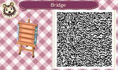 Wasserdesigns - Animal Crossing New Leaf Simple waterway w/ small bridge #6<----