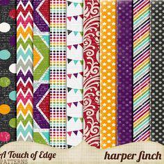 A Touch of Edge Patterns by Harper Finch by harperfinch.deviantart.com on @DeviantArt