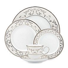 image of Lenox® Opal Innocence™ Silver Dinnerware Collection
