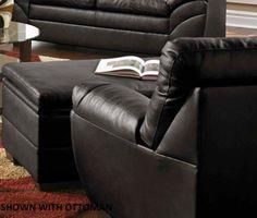 United Furniture Industries 9515-01 Soho Onyx Chair