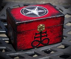 Baphomet box, don't open unless you know what you are doing. Very dangerous BOX.