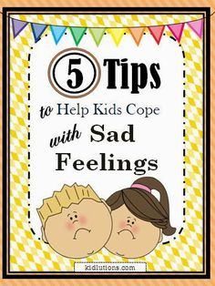 """""""Spin-Doctor Parenting"""":  5 Tips to Help Kids Cope with Sad Feelings  #ece  #parenting"""