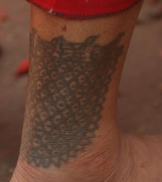 A traditional newari tattoo. Dying to get this one done :)