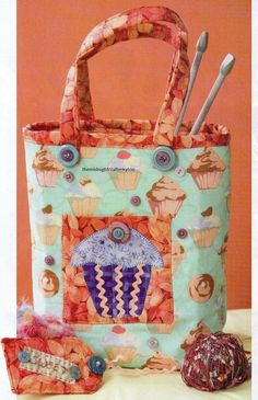 Tag N Tote Quilt Pattern Pieced/Applique PS Bag