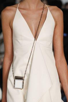 micro-mini crossbody chain bag, Valentino - Spring 2017 Ready-to-Wear