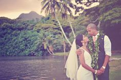 Let's Do This Event and Wedding Planning: Secret Island and Hale Molii Kualoa Ranch Wedding