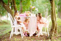 Little Girl's Tea Party Sessions:: Thomasville, Ga Photographer