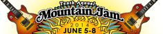 10th Annual Mountain Jam June 5 - 8, 2014 Hunter Mountain, NY
