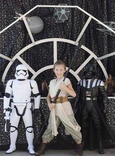 Star Wars Birthday Party on Kara's Party Ideas | KarasPartyIdeas.com (7) (Star Wars Diy Costumes Galaxies)