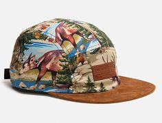 Grizzly Cliff 5 Panel Hat By THE QUIET LIFE