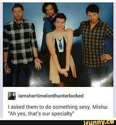 I don't think Jensen got the idea<< jensen is always sexy