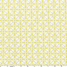 Stitch Petal in Citron by Michael Miller // for yellow & gray