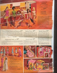 Ward's Exclusive Barbie Kitchen by Fuchs (Germany) and Barbie's Family House from the Montgomery Ward Christmas Catalog, 1968 Play Barbie, Barbie And Ken, Toy Catalogs, Barbie Kitchen, Malibu Barbie, Barbie Family, Barbie Dream House, Christmas Catalogs, Barbie Clothes