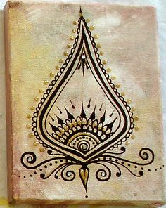 henna art painting | by HennaMe