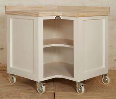 Swedish Style Corner Unit with Whitened Top